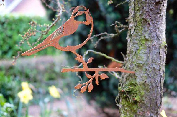 Baumstecker Glücksvogel Blaumeise