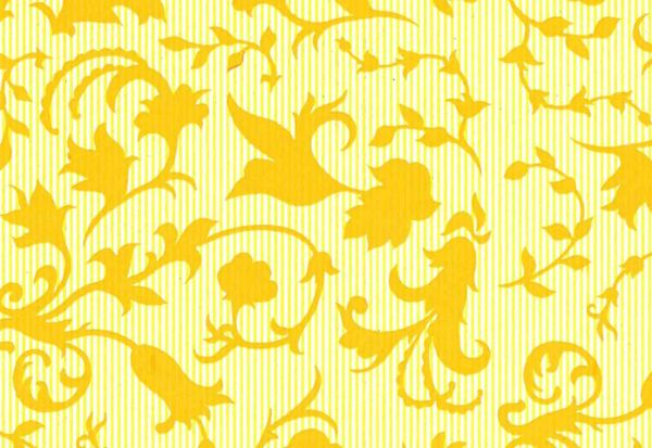 ANGEBOTSPAPIER Blumenseidenpapier Retro-Line gelb 75 cm -9kg-