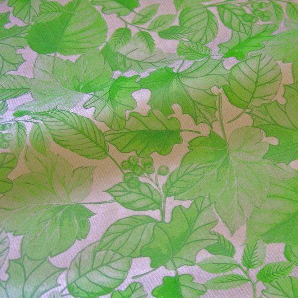 Seidenpapier Blätterrauschen grün 75cm