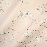 Seidenpapier Swinging Flowers rose-schwarz 75cm