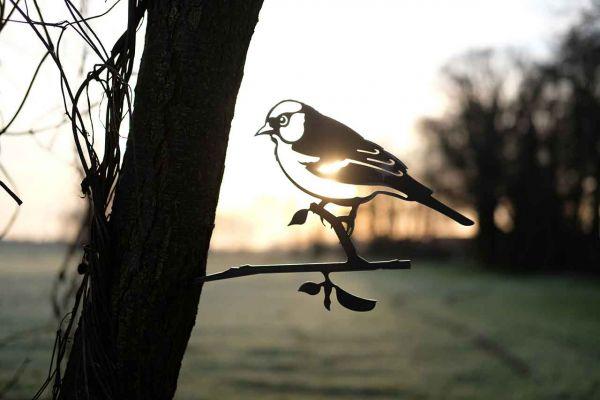 Baumstecker Glücksvogel Buchfink 2