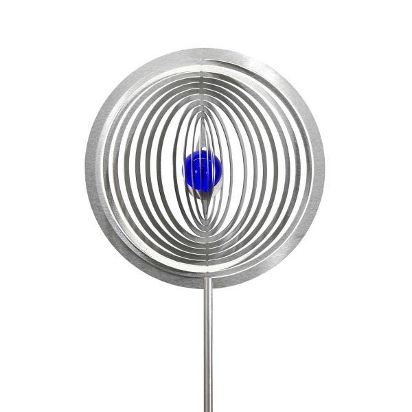 Gartenstecker Kreis Circolo mit 35mm Glaskugel