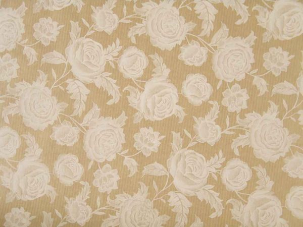 Blumenpapier Comtesse weiß 75cm