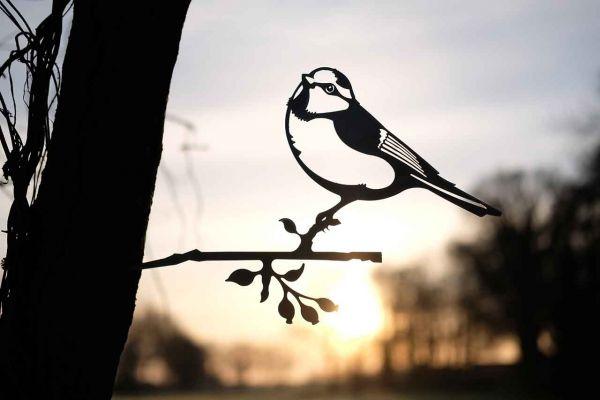 Baumstecker Glücksvogel Blaumeise 1