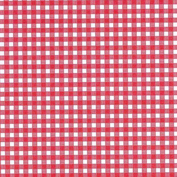 Seidenpapier Karo rot 50cm