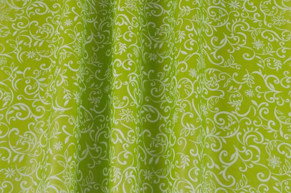 Seidenpapier Ranken grün 50cm