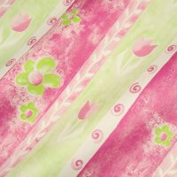 Seidenpapier Happy Spring pink-grün 75cm