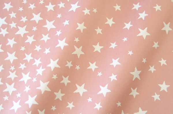 Blumenpapier Sternenzelt rosenholz 50cm