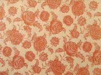 Blumenpapier Comtesse rot 75cm