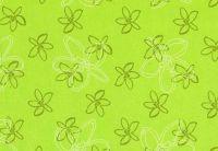 Blumenseidenpapier Petit Fleur grün 50 cm -6kg-