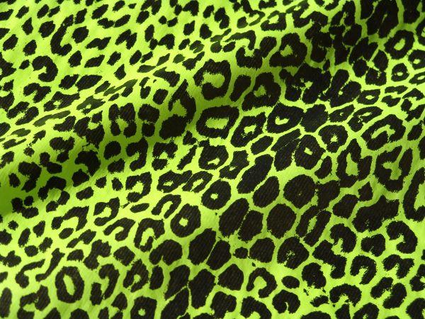 Blumenseidenpapier Leo grün-schwarz 75 cm -9kg-