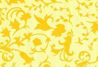 Blumenseidenpapier Retro-Line gelb 50 cm -6kg-