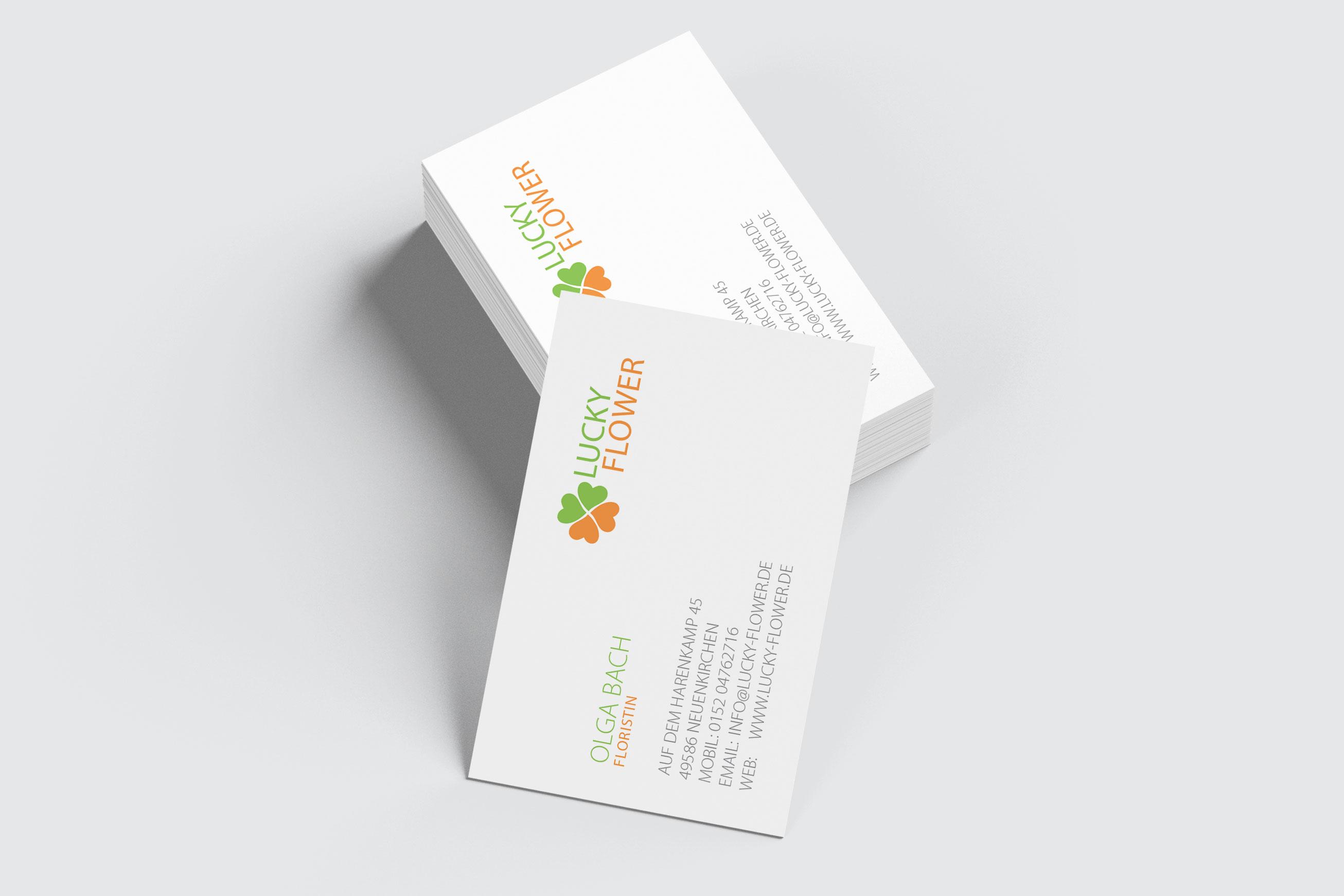 Visitenkarten Mit Ihrem Logo Drucksachen Werben Und