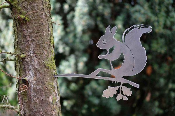 Baumstecker Glückstier Eichhörnchen
